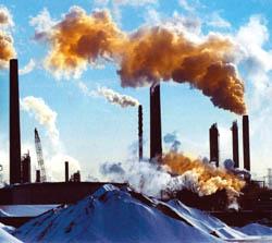 Zanieczyszczenia z kominów
