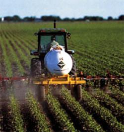 Opryskiewanie pola